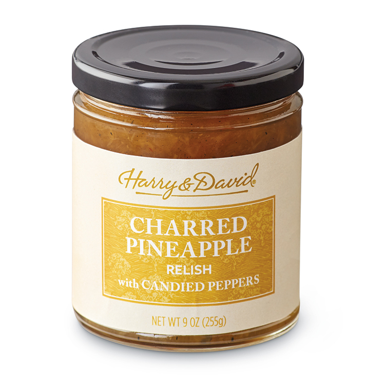 Harry & David Charred Pineapple Relish with Candied Peppers, 9 Oz