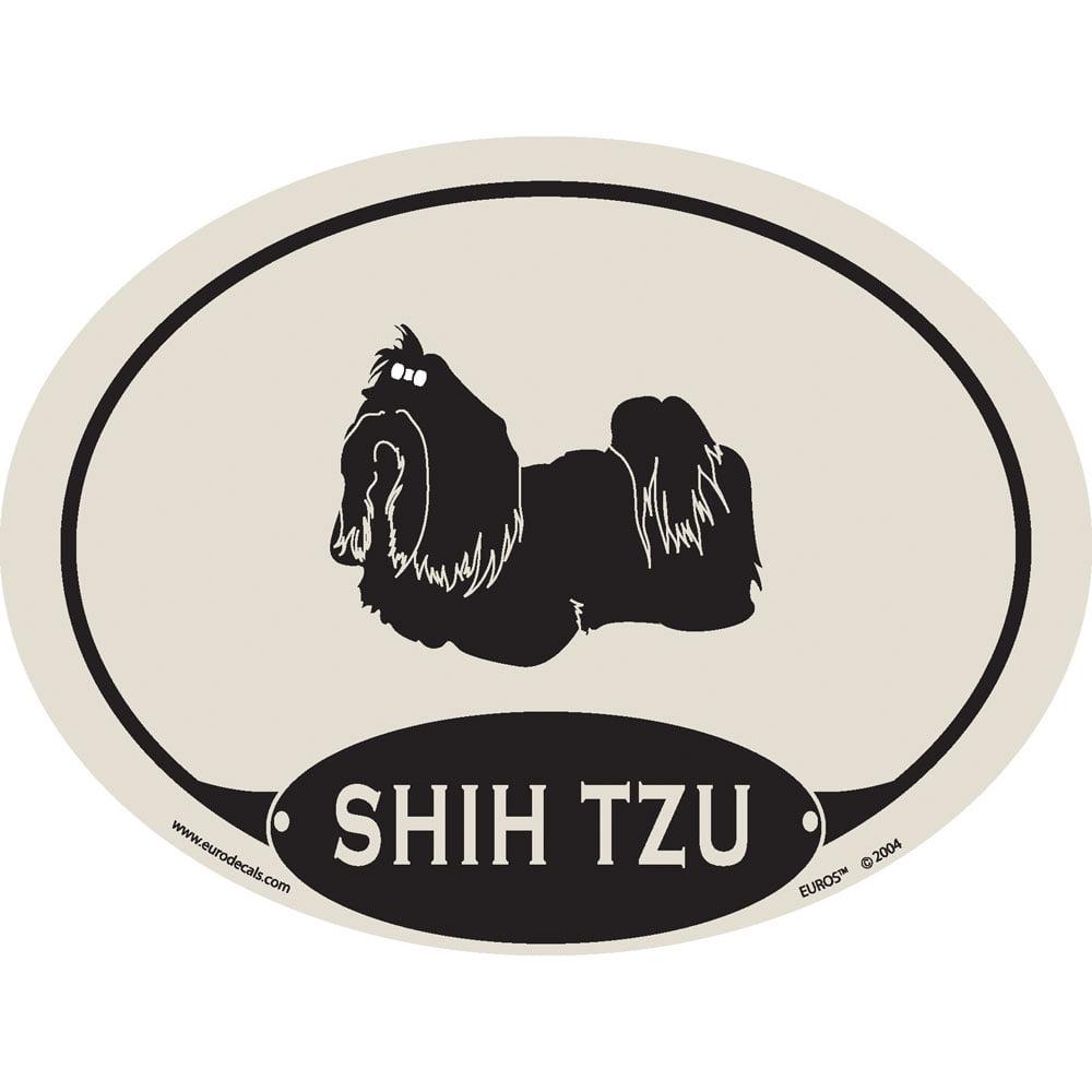 European Style Shi Tzu Auto Decal