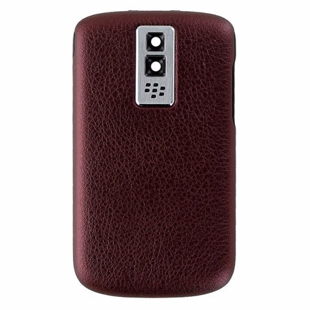 Blackberry 9000 Battery Cover (BlackBerry Bold 9000 OEM Replacement Battery Door Back Cover - Dark Red)