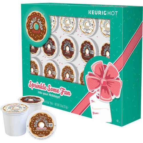 Keurig Holiday The Original Donut Shop Coffee K-Cups Coffee, 20 count, 7.6 oz