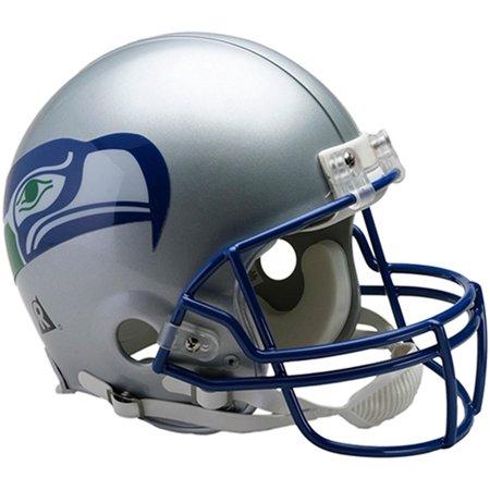 Riddell Seattle Seahawks VSR4 Throwback 1983-2001 Full-Size Authentic Football Helmet 1960 Authentic Throwback Helmet