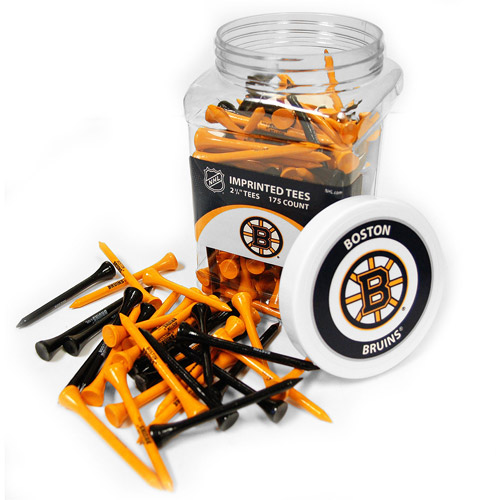 Team Golf NHL Boston Bruins Jar Of 175 Golf Tees