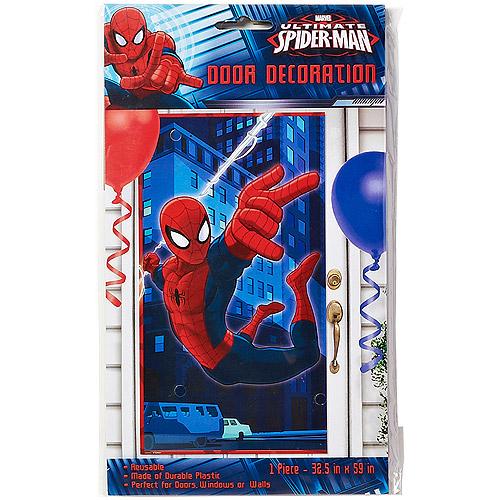 Spider-Man Door Cover, Party Supplies