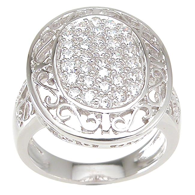 Plutus kkr6762c 925 Sterling Silver Antique Style Ring Size 8