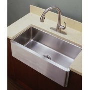 Empire Industries LF33 Single Bowl Farmhouse Stainless Steel Kitchen Sink