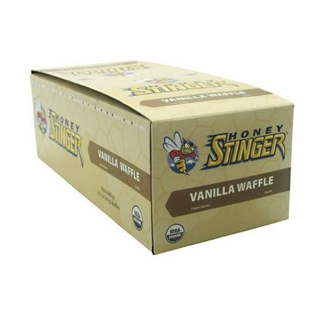 Honey Stinger Organic Energy Waffles, Vanilla, 16 Ct