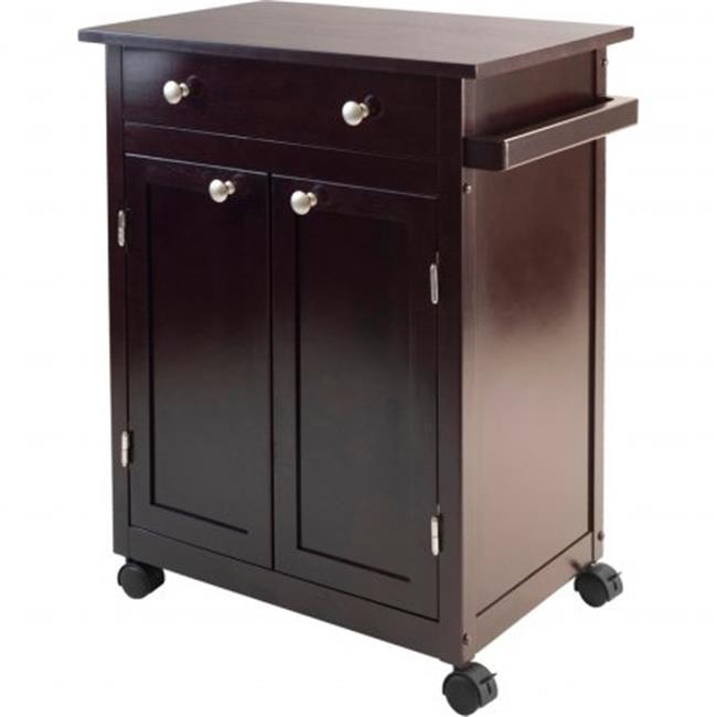 Savannah Kitchen Cart   Espresso
