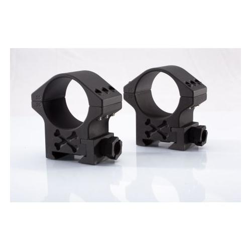 Talley 34mm Tactical Riflescope Rings Black Armor High 6 Screw