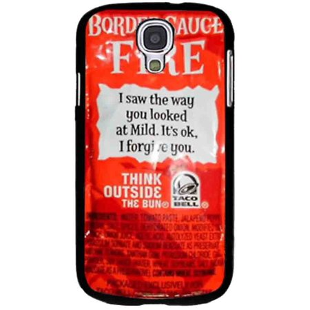 Ganma Taco Bell Sauce Fire Design Case For Samsung Galaxy Case (Case For Samsung Galaxy S4 Black)