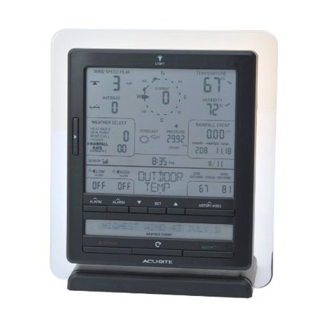 Acurite 01015a1 Weather Forecaster - 330 Ft - Desktop, Wall Mountable