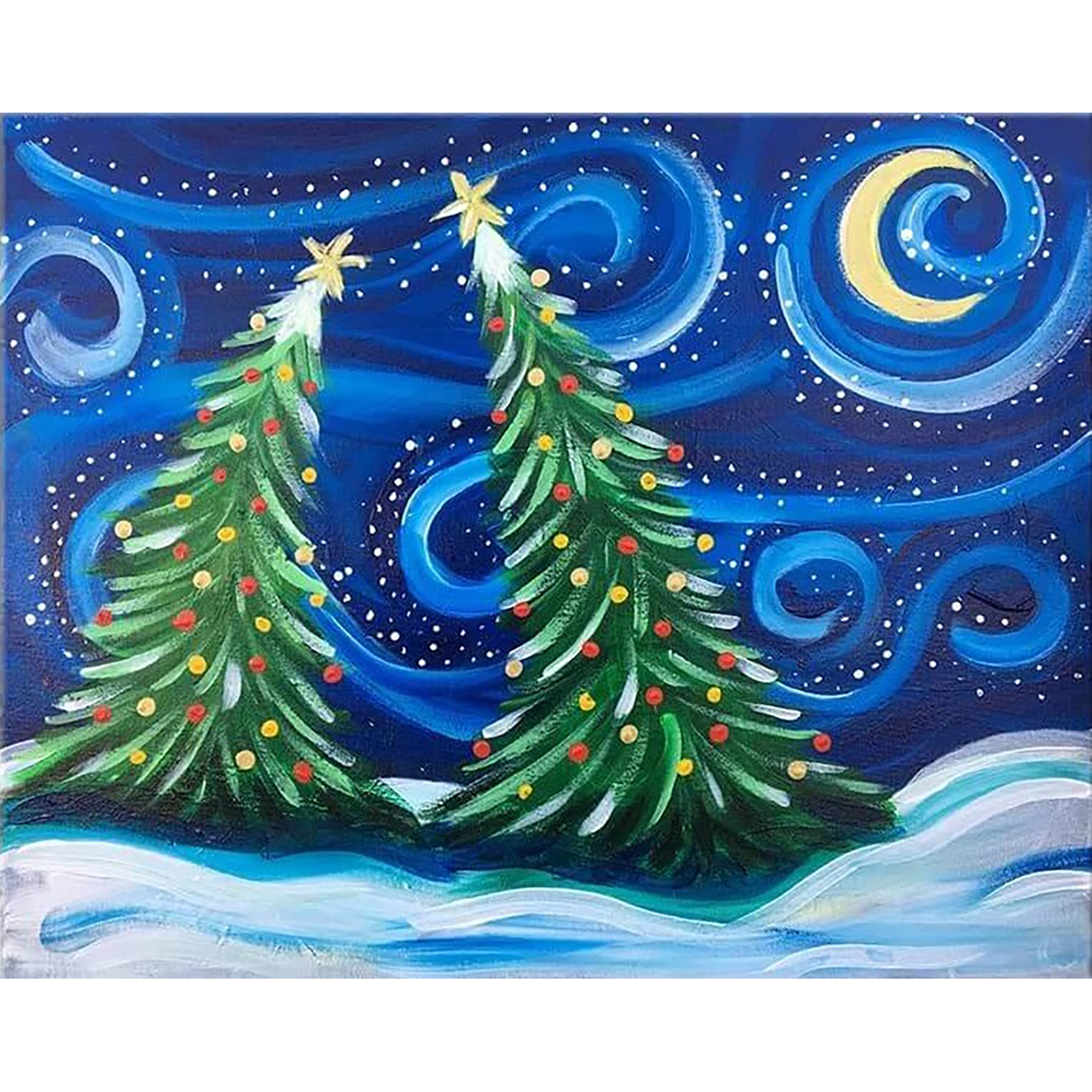 5D Full Drill Diamond Painting Embroidery Christmas Xmas Gift  DIY Kids Room New