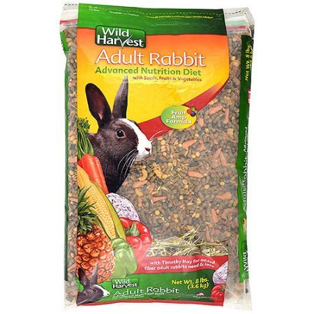 Wild Harvest Advanced Nutrition Diet for Adult Rabbits, 8 lbs. - Rabbit's Foot For Sale