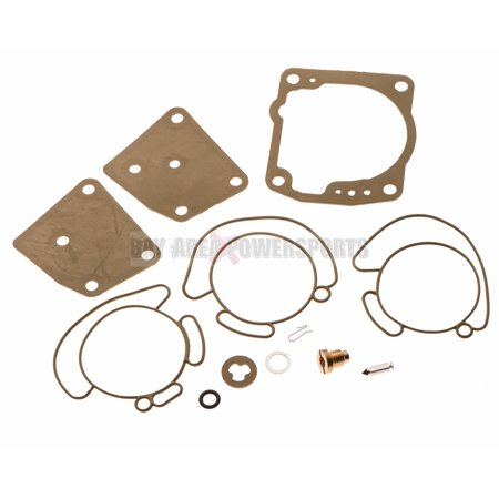 175 Kit (Johnson Evinrude Carburetor Carb Rebuild Repair Kit V4 V6 90 100 105 115 150 175 )