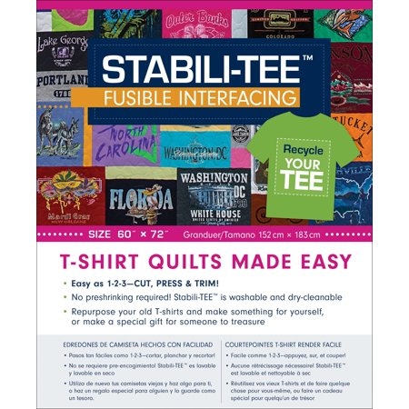 Stabili-TEE Fusible Interfacing Pack 60
