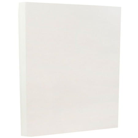 White Parchment - JAM Paper Parchment Paper, 8.5 x 11, 24 lb White Recycled, 100 Sheets/pack