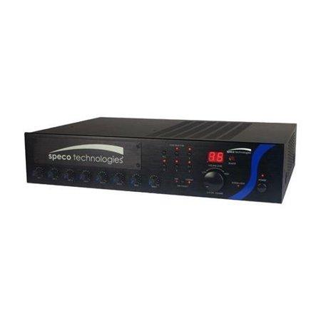 Pa Mixer Amplifier - 60W PA Mixer Amplifier with Module Bay
