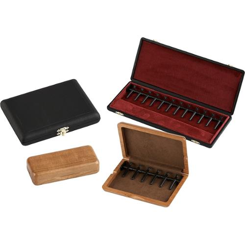 J. Winter Double Reed Cases Leather Covered Bassoon  - Holds 6