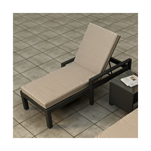Forever Patio Barbados Chaise Lounge with Cushion