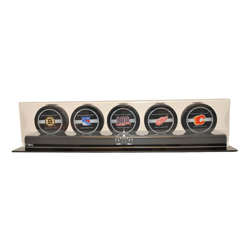 Caseworks International 4.25'' Five Puck Display Case