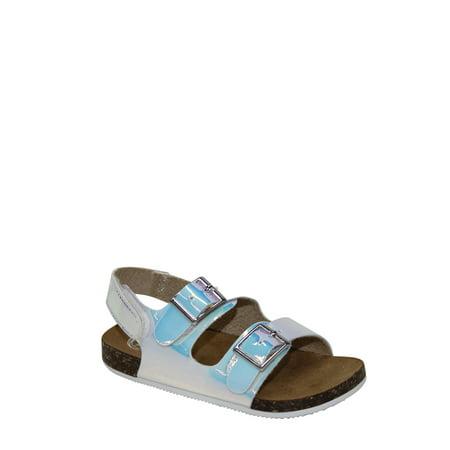 Wonder Nation Infant Girl Two Buckle - Fancy Girls Sandals