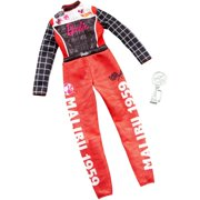 Barbie Clothes Career Outfit For Barbie Doll, Racecar Driver Jumpsuit With Trophy