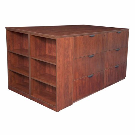 Regency Seating Legacy Stand Up Lateral File Quad Bookcase End picture