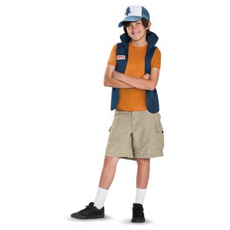 Dipper Pines Costume (Gravity Falls Disney Classic Dipper Tween Costume)