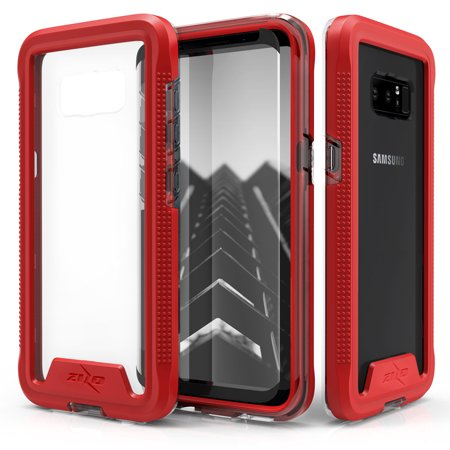 Galaxy Note 8 / S8 / S8 Plus Case, Zizo ION Shockproof Cover w/ Screen