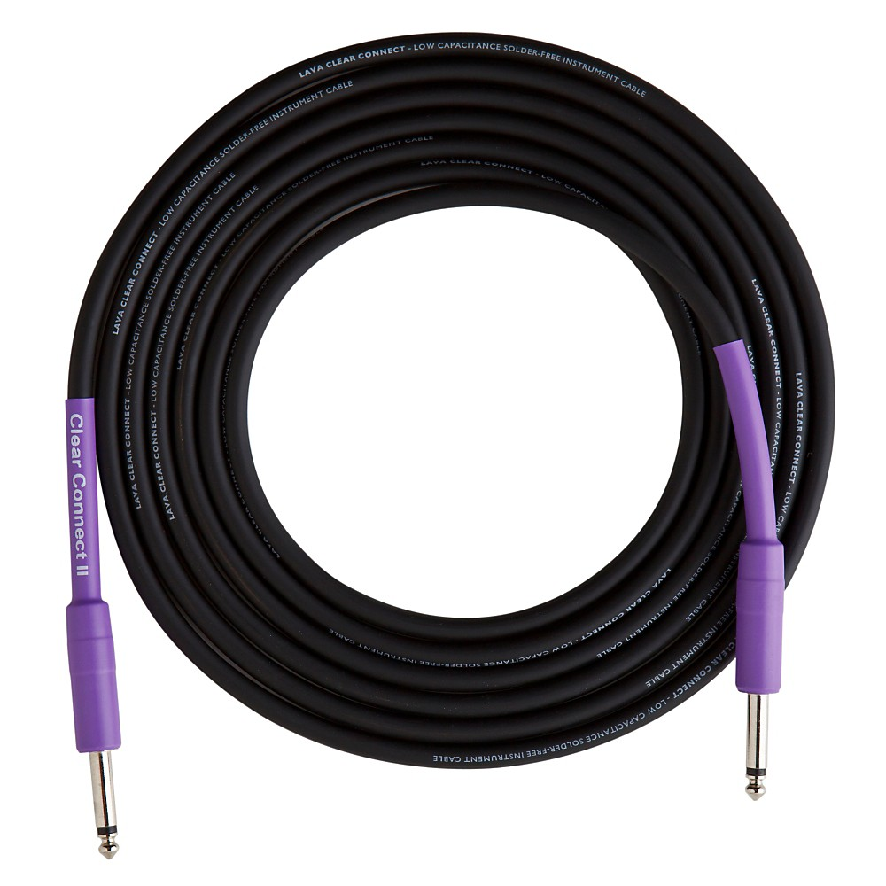 Lava Clear Connect II Instrument Cable Straight to Straight 6 ft.