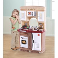 Step2 Lifestyle Fresh Accents Play Kitchen with 30 Piece Accessory Set