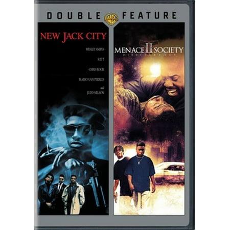 New Jack City / Menace II Society (DVD) - New 2