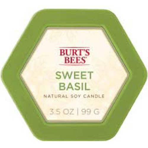 Burt's Bees Tin Sweet Basil Candle