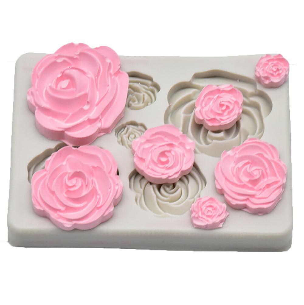 Joinor Christmas Tree Branch Silicone Fondant Mold Cake Cupcake Decorating Mould Sugarcraft Baking Tools