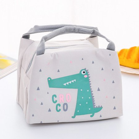 Student Lunch Bag Thermal Bag Cooler Handbag Food Neutral Portable Lunch Bag - image 2 of 3