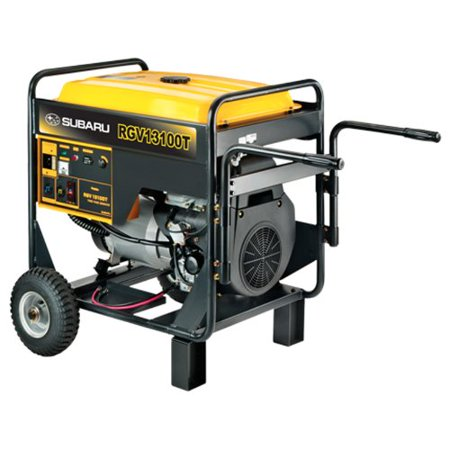 Subaru Rgv13100t 20 5 Hp Gas Powered Industrial Generator  12000W