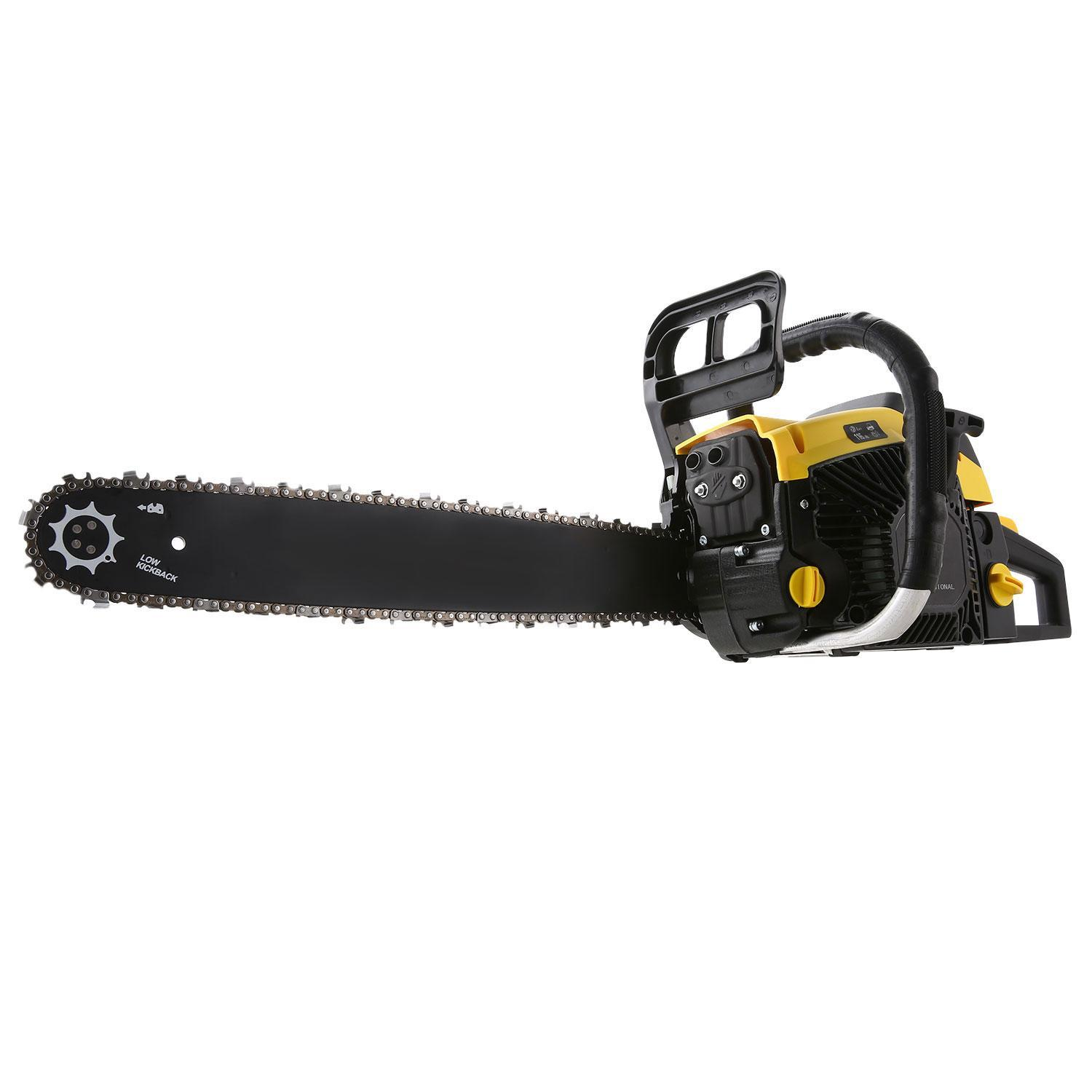 "Clearance!!Hifashion 58CC Chainsaw 20"" 4.0HP 2 Strokes Gas Powered Petrol Chainsaw Saw Blade With Chains, Bar Cover... by"