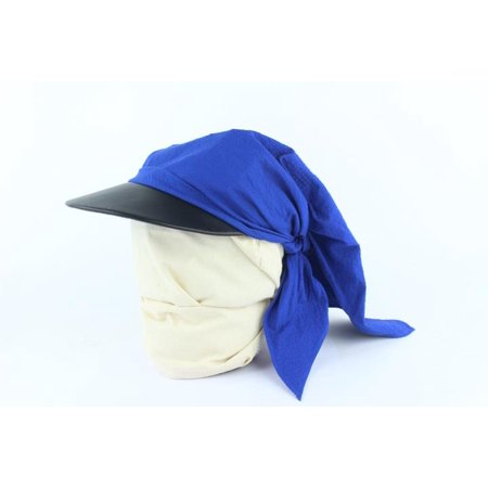 Blue Gaby Seersucker Pointu Solaire Wrap Cap 33hz1009 (Seersucker Wrap)