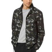 Michael Kors Men's Camouflage Jacket (Camo Green, M)