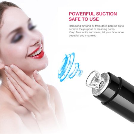 Ccdes Portable Oil Controlling Blackhead Removing Skin Whitening Electric Facial Massage Pore Cleaner,Pore Cleaner, Blackhead Removing Cleaner (Massage Oil For Face)