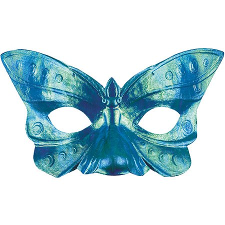 Butterfly Iridescent Eye Mask Halloween Accessory - Eye Contact Halloween