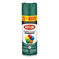 Krylon ColorMaster Paint + Primer Gloss Hunter Green, 15-Oz