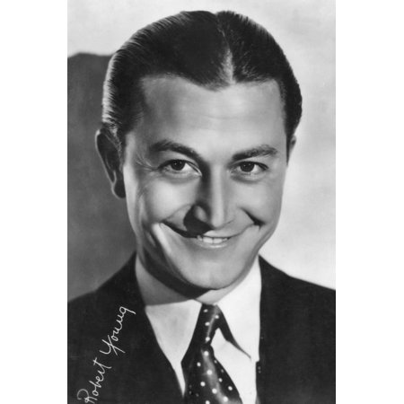 Robert Young, American Actor, 20th Century Print Wall (Best Young American Actors)