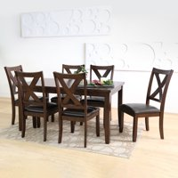 Abbyson Living Edgewater 7-Piece Dining Set
