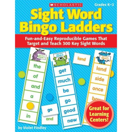Sight Word Bingo Ladders