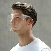 1 Pieces EXGREEM Face Shield Protective Facial Cover Transparent Glasses Visor Anti-Fog Reusable