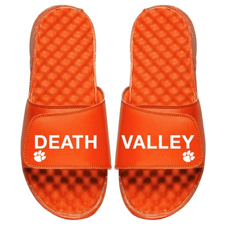 Clemson Tigers ISlide Death Valley Split Slide Sandals - Orange