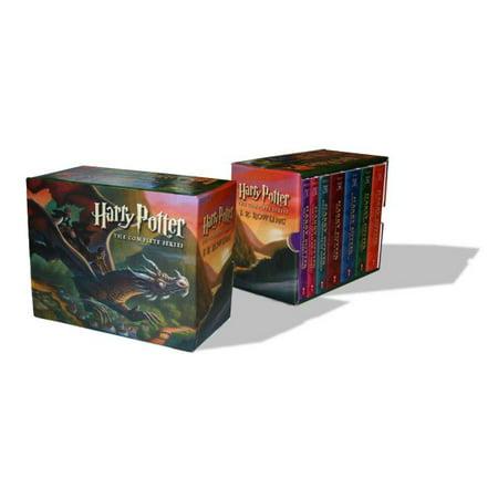 Harry Potter Paperback Boxed Set  Books  1 7  Boxed Set
