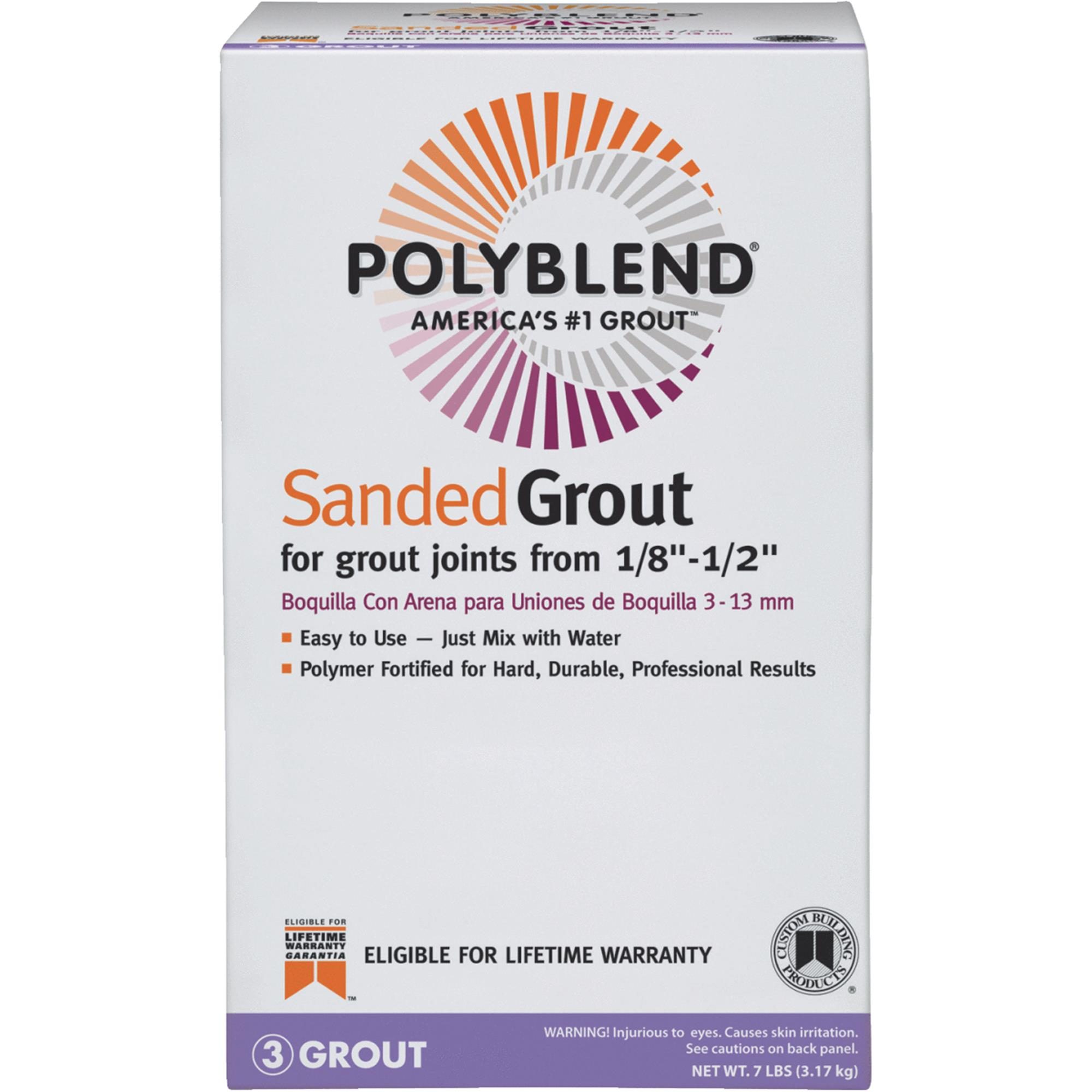 Custom Building Products Polyblend Sanded Tile Grout