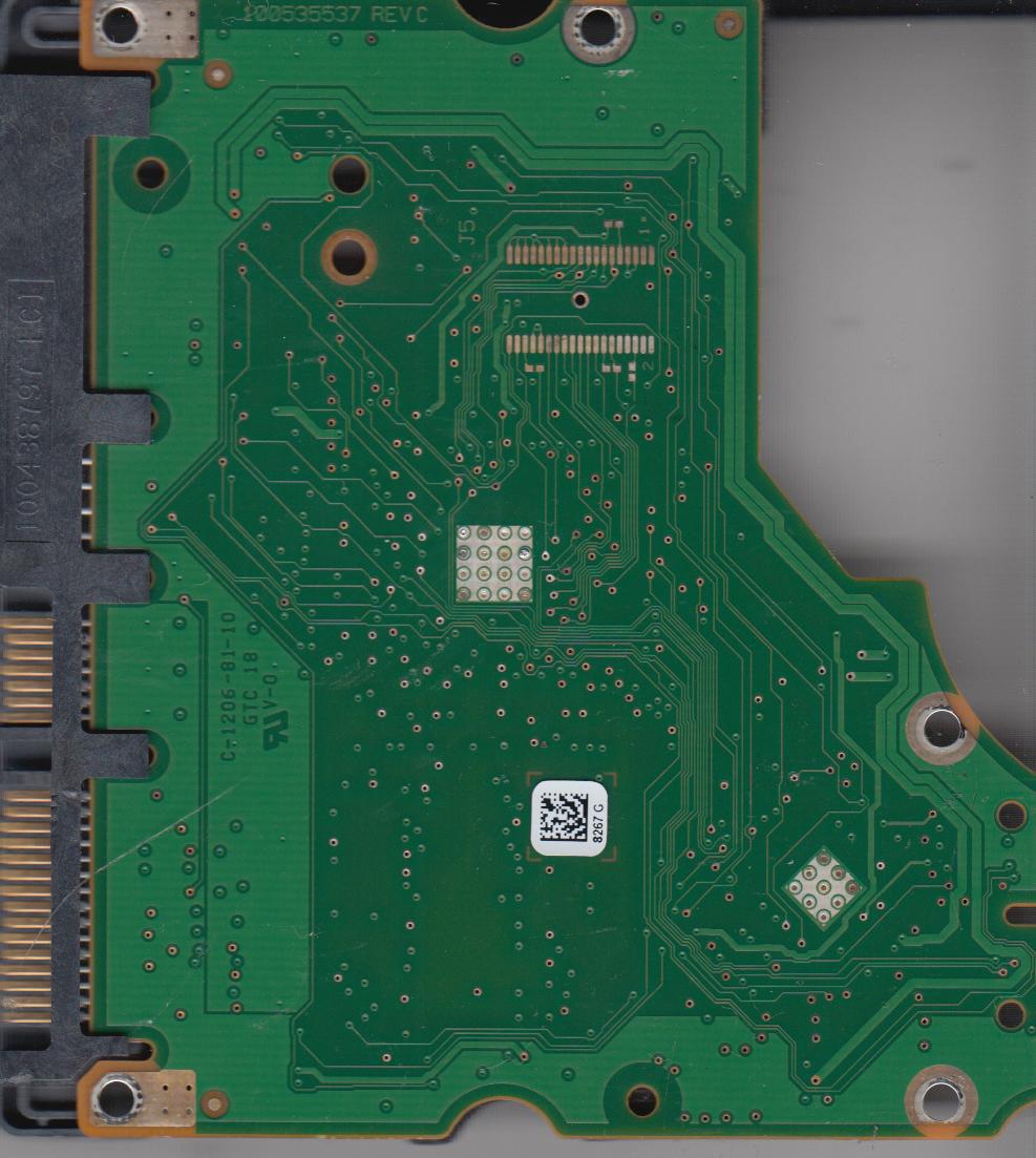 ST31000528AS, 9SL154-241, AP2E, 8267 G, Seagate SATA 3.5 PCB