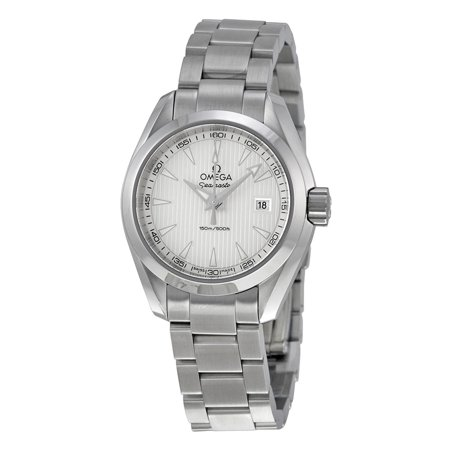 Omega Aqua Terra Silver Dial Ladies Watch 23110306002001